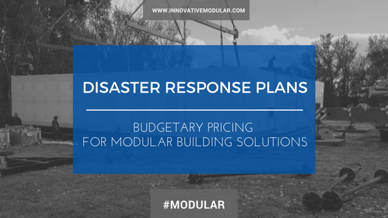 Disaster Response Plans - Budgetary Pricing.png