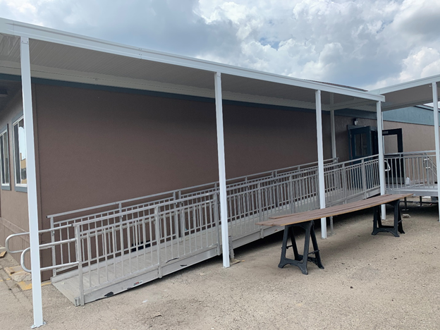 How Decking, Awnings & Canopies in Modular Buildings Benefit Schools